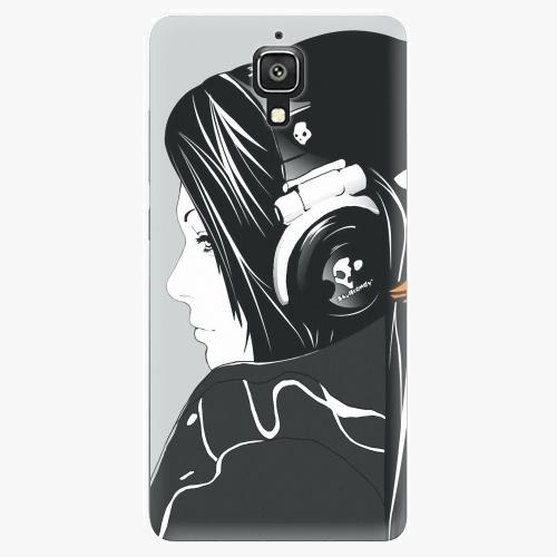 Plastový kryt iSaprio - Headphones - Xiaomi Mi4