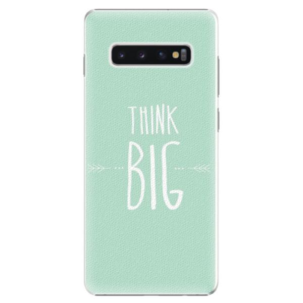Plastové pouzdro iSaprio - Think Big - Samsung Galaxy S10+