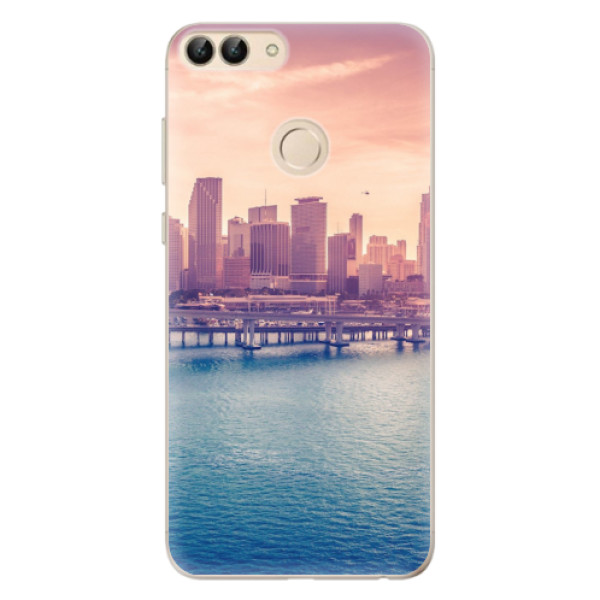 Odolné silikonové pouzdro iSaprio - Morning in a City - Huawei P Smart