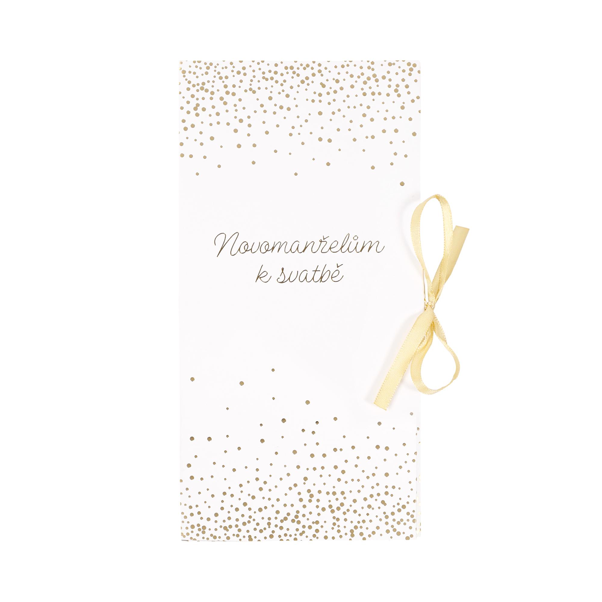 Svatební dárková krabička - Konfety