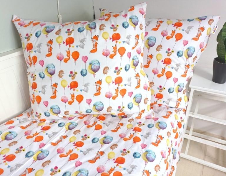 Baby Nellys 2-dílné bavlněné povlečení 140 x