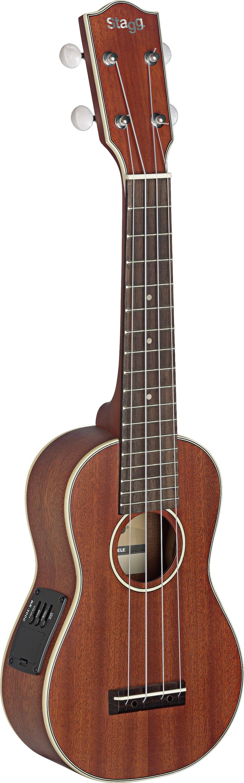 Stagg US80-SE, elektroakustické sopránové ukulele