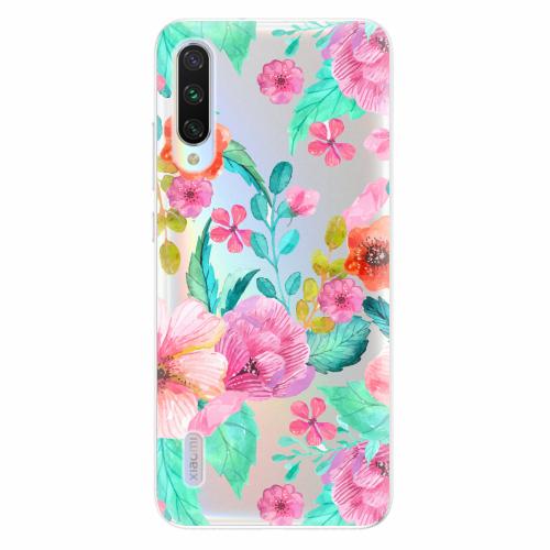 Silikonové pouzdro iSaprio - Flower Pattern 01 - Xiaomi Mi A3