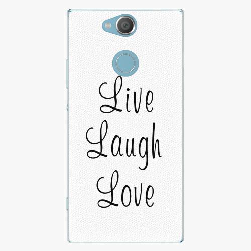 Plastový kryt iSaprio - Live Laugh Love - Sony Xperia XA2