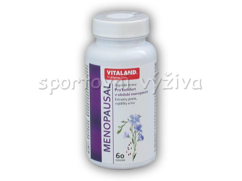 Vitaland Menopausal New 60 kapslí