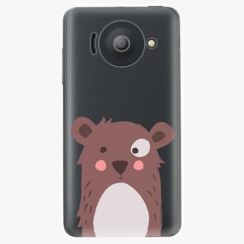 Plastový kryt iSaprio - Brown Bear - Huawei Ascend Y300