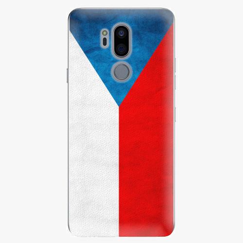 Plastový kryt iSaprio - Czech Flag - LG G7