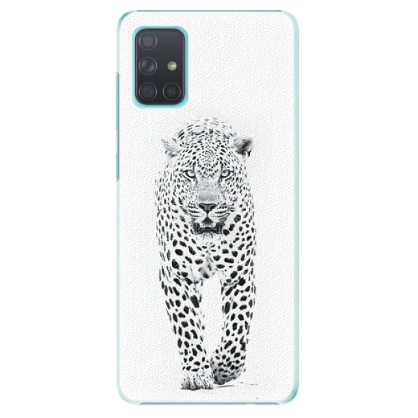 Plastové pouzdro iSaprio - White Jaguar - Samsung Galaxy A71