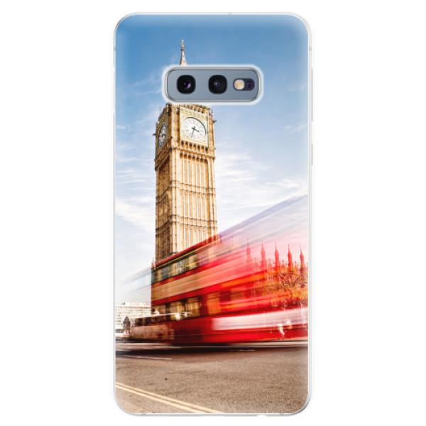 Odolné silikonové pouzdro iSaprio - London 01 - Samsung Galaxy S10e