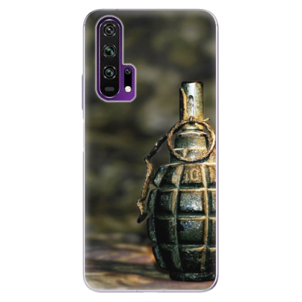 Odolné silikonové pouzdro iSaprio - Grenade - Honor 20 Pro