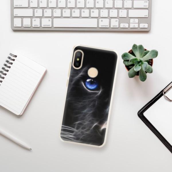 Plastové pouzdro iSaprio - Black Puma - Xiaomi Mi A2 Lite