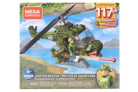 Mega Bloks Vojenský záchranný vrtulník GNY51