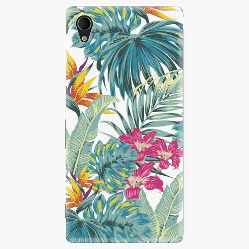 Plastový kryt iSaprio - Tropical White 03 - Sony Xperia M4