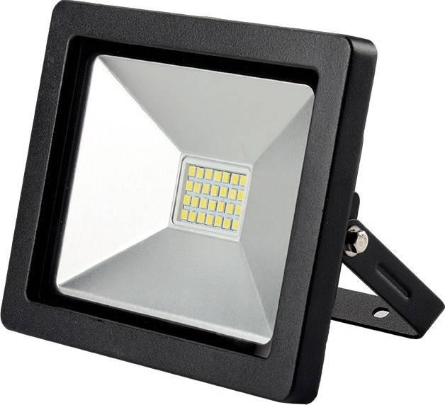 Reflektor WM-30W-G Solight LED WM-30W-G venkovní reflektor SLIM, 30W, 2100lm, 3000K, černý