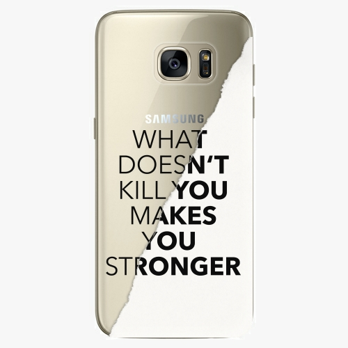 Plastový kryt iSaprio - Makes You Stronger - Samsung Galaxy S7 Edge