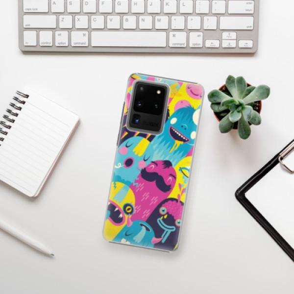 Plastové pouzdro iSaprio - Monsters - Samsung Galaxy S20 Ultra