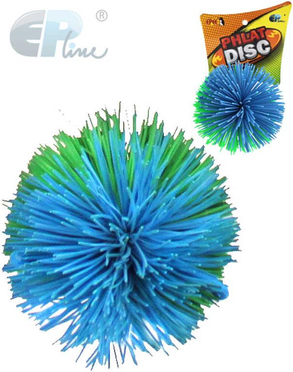 EP line Phlat Disc náhradní míček 8cm chlupatý modrozelený