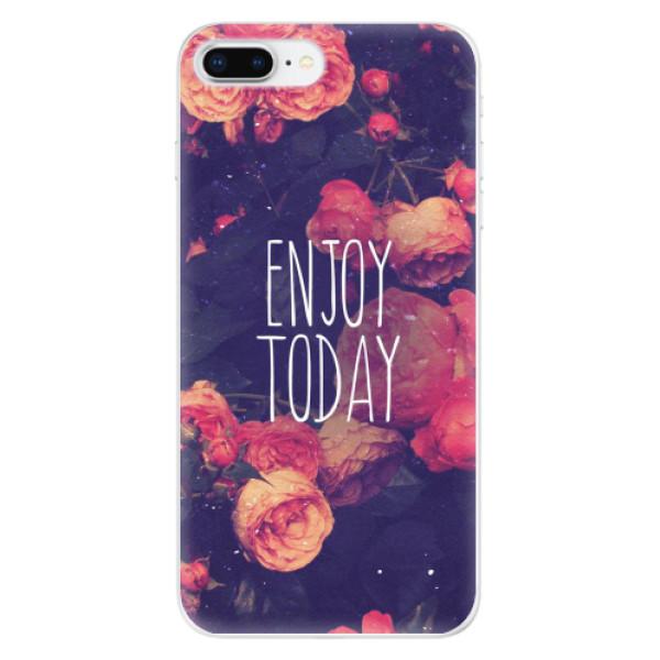 Odolné silikonové pouzdro iSaprio - Enjoy Today - iPhone 8 Plus