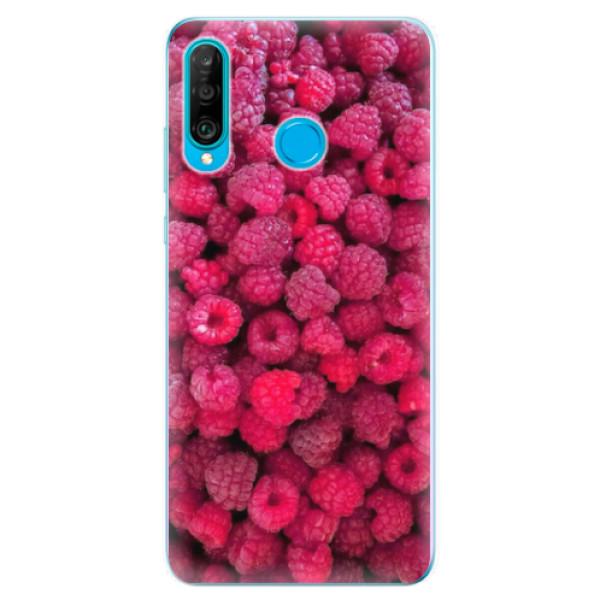Odolné silikonové pouzdro iSaprio - Raspberry - Huawei P30 Lite