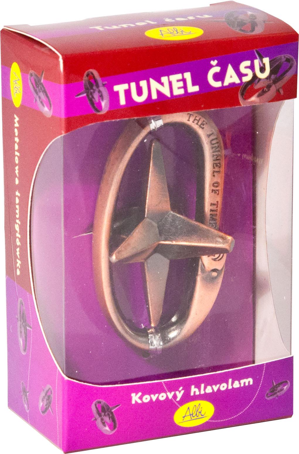 Kovový hlavolam - Tunel času