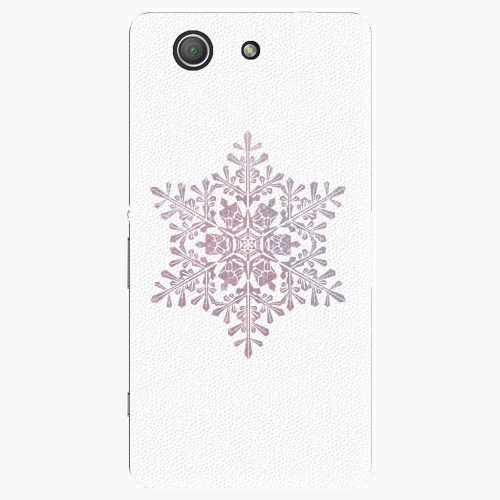 Plastový kryt iSaprio - Snow Flake - Sony Xperia Z3 Compact