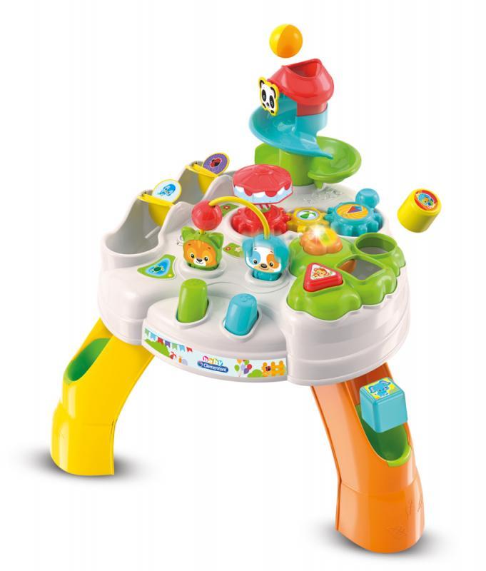 Clemmy baby - Veselý hrací stolek s kostkami a zvířátky