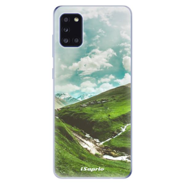 Odolné silikonové pouzdro iSaprio - Green Valley - Samsung Galaxy A31