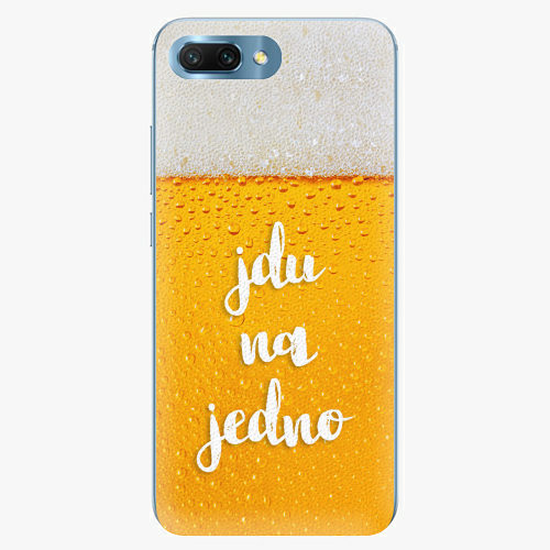 Plastový kryt iSaprio - Jdu na jedno - Huawei Honor 10
