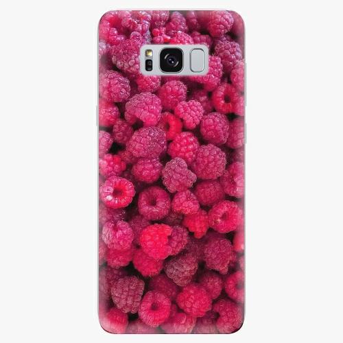 Silikonové pouzdro iSaprio - Rasberry - Samsung Galaxy S8