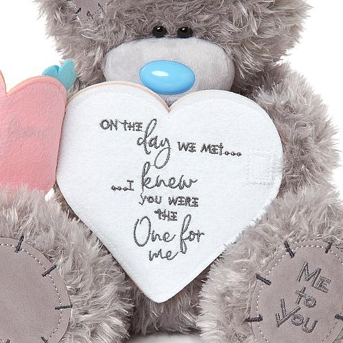 Medvídek - Růžové srdce