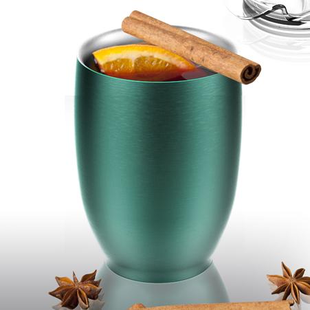 Termo hrnek IMPERIAL COFFEE zelený 300ml