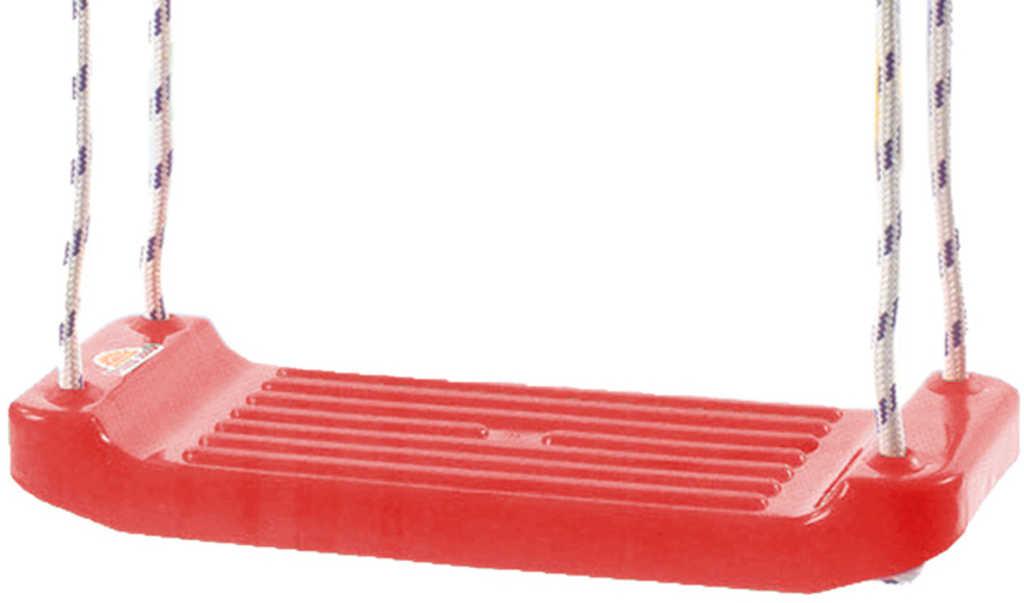MAD Houpačka červená závěsná 43x17cm plastové prkénko