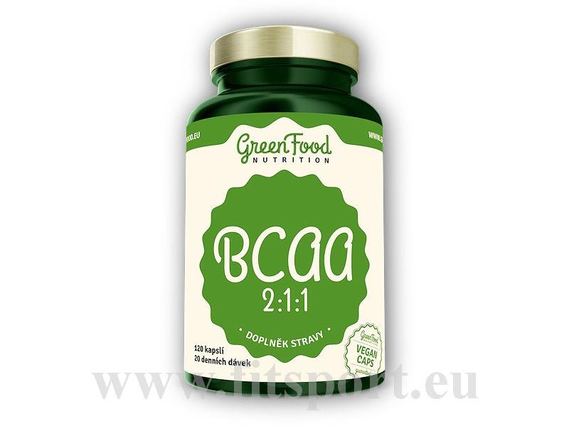 BCAA 2:1:1 120 vegan kapslí