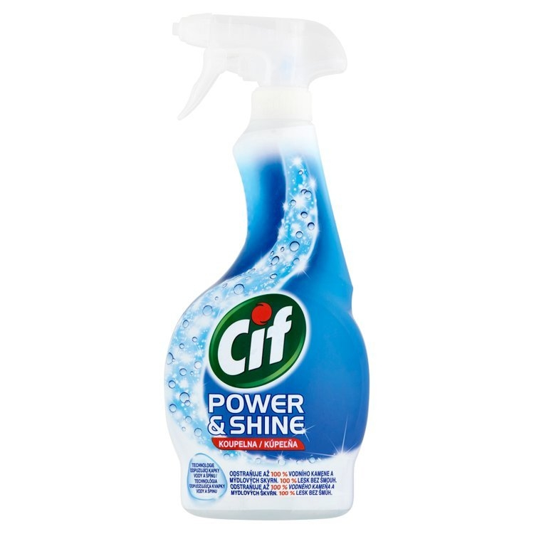 Power&Shine koupelna čistící sprej 500 ml