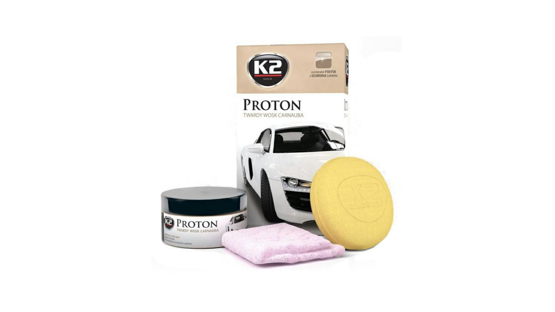 K2 PROTON 200g - tvrdý vosk karnauba
