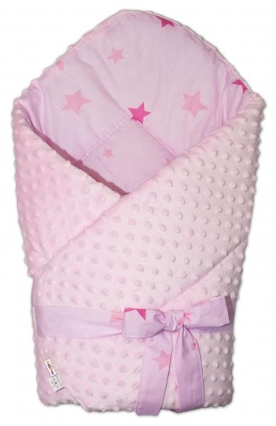 baby-nellys-oboustranna-zavinovacka-na-zavazov-75x75cm-minky-baby-stars-sv-ruzova-k19