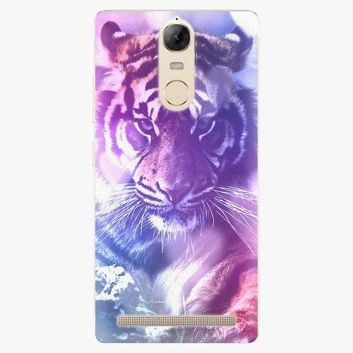 Plastový kryt iSaprio - Purple Tiger - Lenovo K5 Note