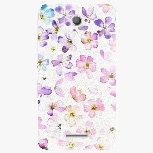 Plastový kryt iSaprio - Wildflowers - Sony Xperia E4