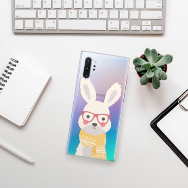 Plastové pouzdro iSaprio - Smart Rabbit - Samsung Galaxy Note 10+