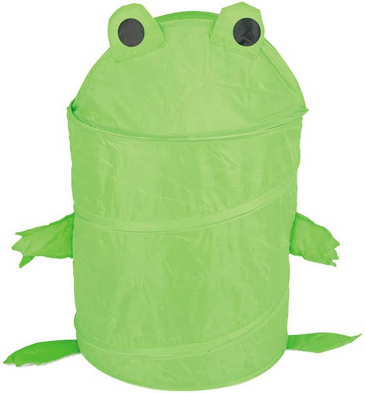 Koš skládací žabka úložný box dětský na hračky
