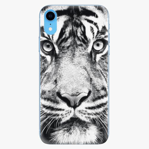 Silikonové pouzdro iSaprio - Tiger Face - iPhone XR
