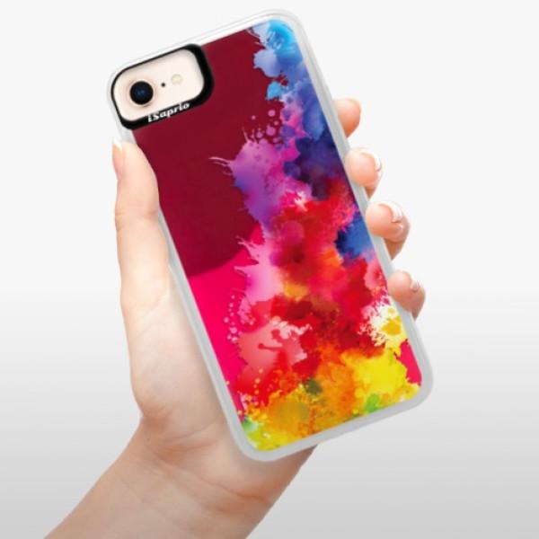Neonové pouzdro Pink iSaprio - Color Splash 01 - iPhone 8