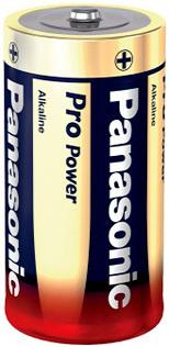 Baterie D velká alkalická LR20 Panasonic