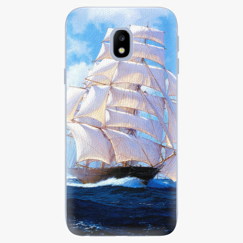 Plastový kryt iSaprio - Sailing Boat - Samsung Galaxy J3 2017