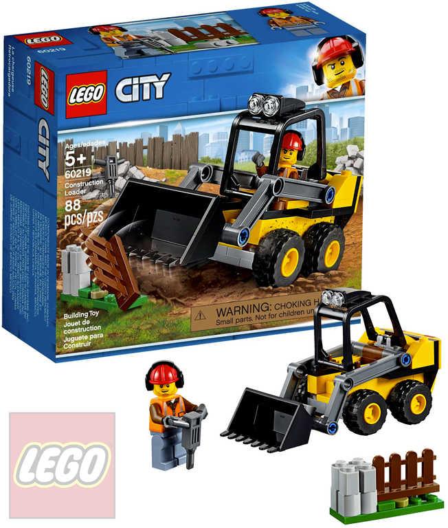 LEGO CITY Stavební nakladač 60219