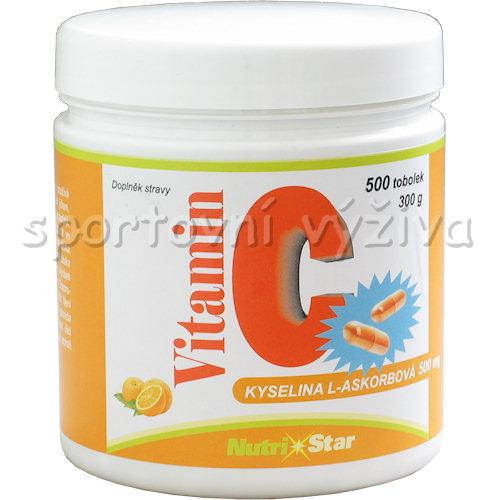 Vitamin C 500mg 500 kapslí