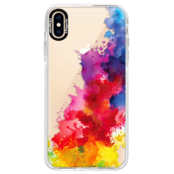 Silikonové pouzdro Bumper iSaprio - Color Splash 01 - iPhone XS Max