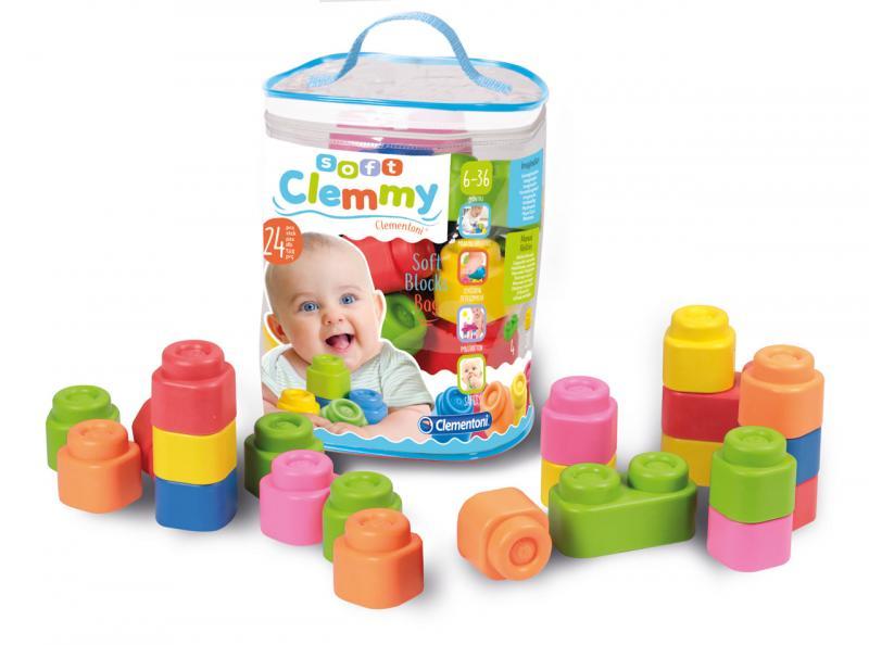 Clemmy baby - 24 kostek v plastovém pytli