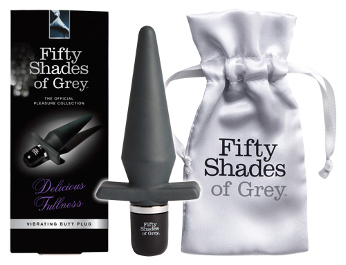 Fifty Shades of Grey - Vibrating Butt Plug Delicious Fullness