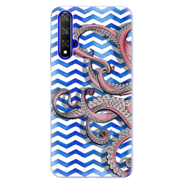 Odolné silikonové pouzdro iSaprio - Octopus - Huawei Honor 20
